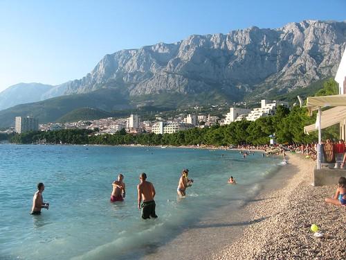 Spiagge della riviera di Makarska