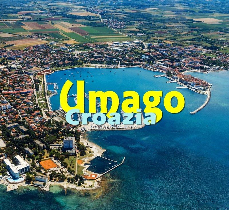 Umago, Croazia è la prima cittadina che si incontra arrivando in Istria in auto.