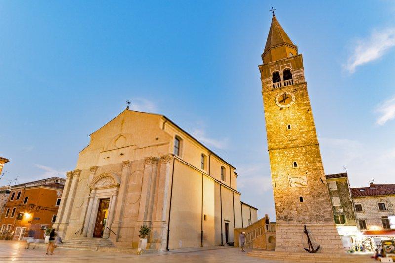 Il centro storico di Umago