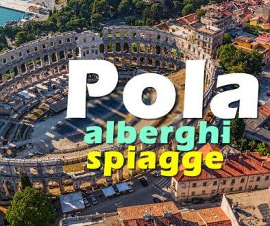 Pola ostenta un anfiteatro romano in eccellenti condizioni, il più ampio spazio di ritrovo di anfore al mondo, il Tempio di Augusto, molte chiese, monasteri, l'architettura veneziana e austro-ungarica